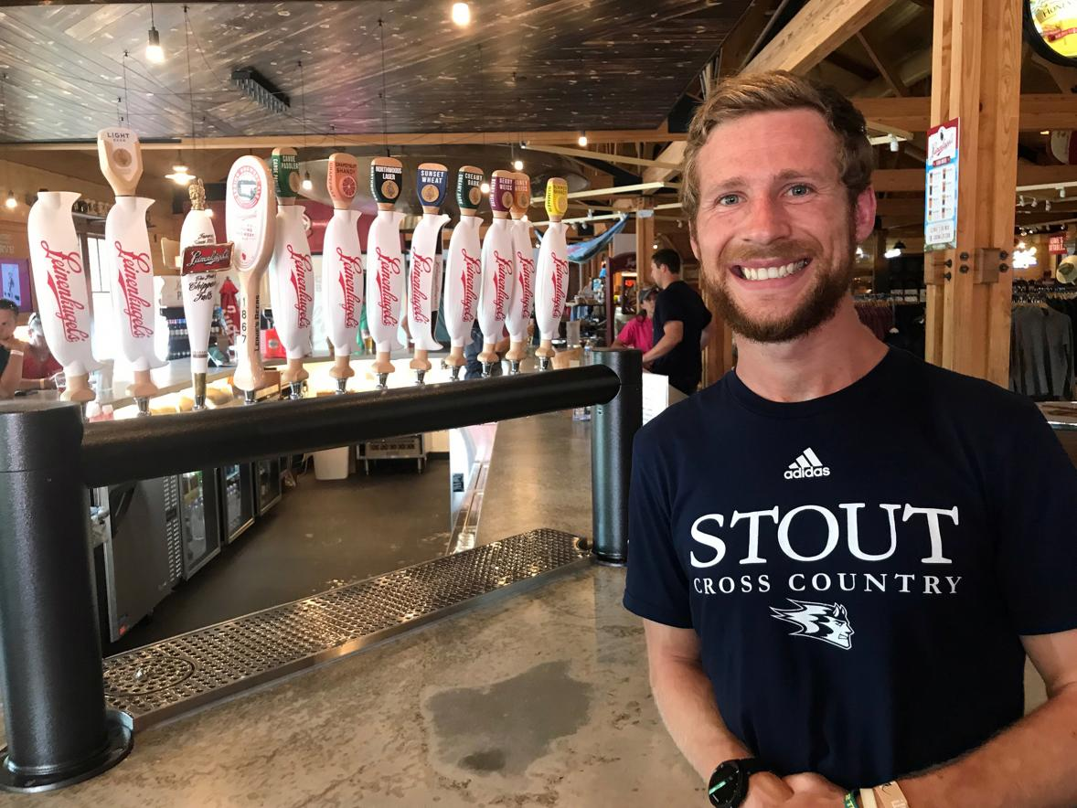 UW-Stout senior Mike Friedman, a food science and technology major, is interning this summer at Leinenkugel's brewery in Chippewa Falls.
