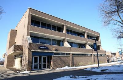 Administration Building across from Harvey Hall where Student Business Services is located.